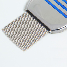 China New Product for Pet Flea Comb Stainless Steel New Pet Lice Comb supply to American Samoa Supplier