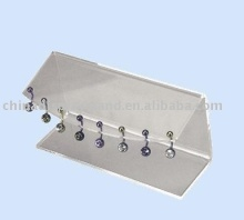 acrylic body piercing jewelry holder