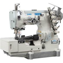 Zuker haute vitesse Pegasus plat Interlock Machine à coudre avec du ruban adhésif liant avec Auto-Trimmer (ZK500-02BB)