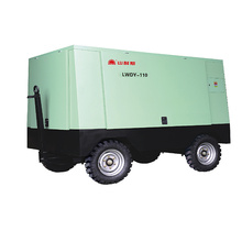 Mobile screw air compressor