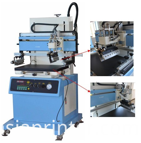 semi-auto Vertical Flat Silk Screen Printing Machine
