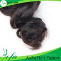 Extensão não processada do cabelo do Virgin da onda do corpo da forma