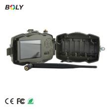 Câmera preta da caça do MMS / GPRS do IR 3G, câmera de vigilância remota automática, Funk-Wildkamera