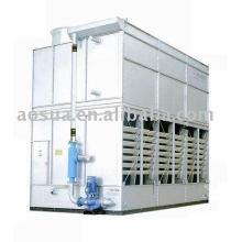 Troca de calor, integração multifuncional da torre de resfriamento