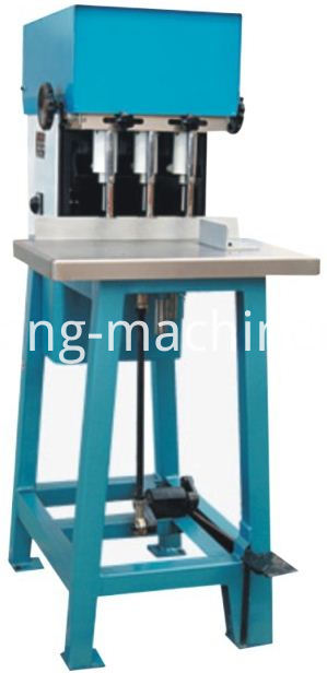 three head drilling machine (pedal type)