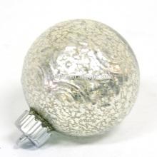 Ornamento de decoração iluminado de Natal iluminado Bolinha de vidro com luzes