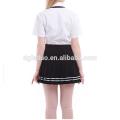 Summer Cotton Blends conception uniforme scolaire British Style China usine