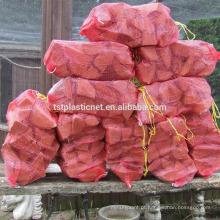Saco da malha da lenha dos PP com boa qualidade em China