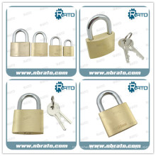 High Security Brass Truck Padlock