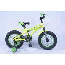 Niños 4 ruedas bicicleta juguetes Metal bici juguete para 3-6 años niño