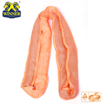 WLL 10Ton Polyester Heavy Duty Polyester Round Sling