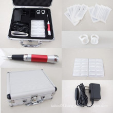 New Style Permanent Eyebrow Makeup Tattoo Kit Rotary Pen Machine Power Supply