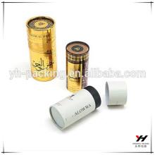 2018 nouvelle conception hign qualité logo personnalisé cadeau pilier boîte en or