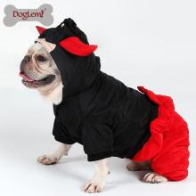 Atacado Inverno Dog Jumpsuit quatro pernas gato cão casaco casaco quente