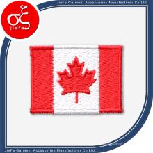 Parche de bordado personalizado con bandera de velcro