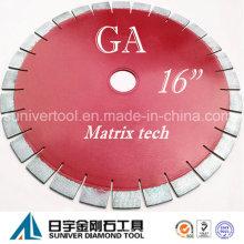 """Lâmina de serra de corte de granito do GP 16 """"* 25mm resultado satisfatório diamante"""