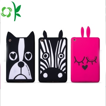 Aangepaste Cartoon hond siliconen Tablet Case schattig Cover