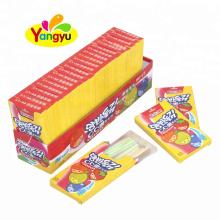 Assorted Flavor Sweet CC Stick Straw Powder Candy