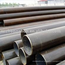 Cabon LSAW tubería de acero para el transporte de líquidos