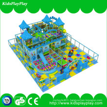 100% Cotton Baby Play Mat Plastic Slides Indoor Playground for Kids