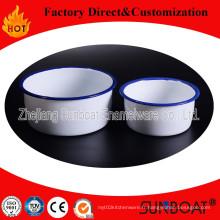 Sunboat 2 Type émail Bowl vaisselle Appliance de cuisine