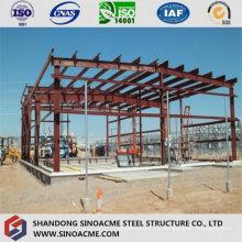 Estructura de estructura de acero para procesamiento Construcción de taller