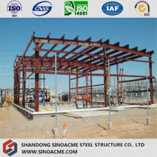 Steel Frame Structure for Processing Workshop Construction