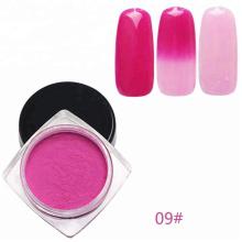 La poudre de pigment thermochromique change de couleur en fonction de la température