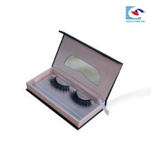 boîte d'emballage de papier cosmétique de faux cils de luxe