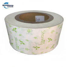 White/Printed color release paper for sanitary napkins