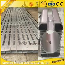 Traitement de précision de commande numérique par ordinateur pour le profil d'extrusion en aluminium