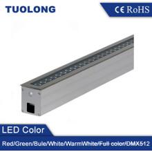 Acero inoxidable 304 Linear 36W LED pavimentador luz de alta calidad empotrada iluminación del jardín