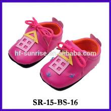 2015 новый продукт мягкой подошве кожа ребенка обуви