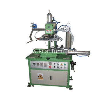 Reliable for China Manufacturer of Hydraulic Cylinder Hot Stamping Machine, Cylinder Hot Foil Stamping Printing Machine Bottle cap hot stamping machine supply to India Wholesale