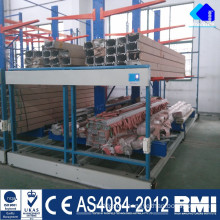 Radio Shuttle Worehouse Storage Electric Mobile Pallet Rack