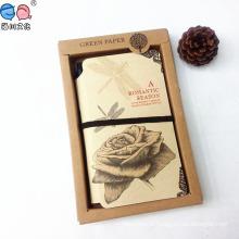 Дешевый пользовательский рекламный комплект для подарков с ручкой