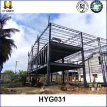 Prefab estructuras de acero hotel edificios