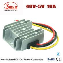Impermeável IP68 48VDC a 5VDC 10A Step Down Conversor DC-DC