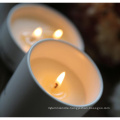 White Wedding Ceramic Jar Candle with Box in Bulk