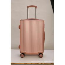 Carretilla giratoria Golden Rose de 360 grados para maletas
