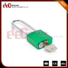 Elecpopular de alta qualidade 41mm corpo de bloqueio Long Shackle pequeno cadeado de alumínio