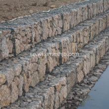 Vinylcoated hexagonal mesh Gabion Basket