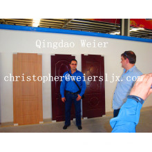 Производственная линия панели двери WPC