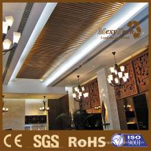 Matériau de construction, approprié pour l'hôtel, plafond de WPC.