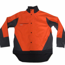 Orange Herren Outdoor winddichte Softshelljacke