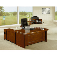 customized model new designs office table with side table