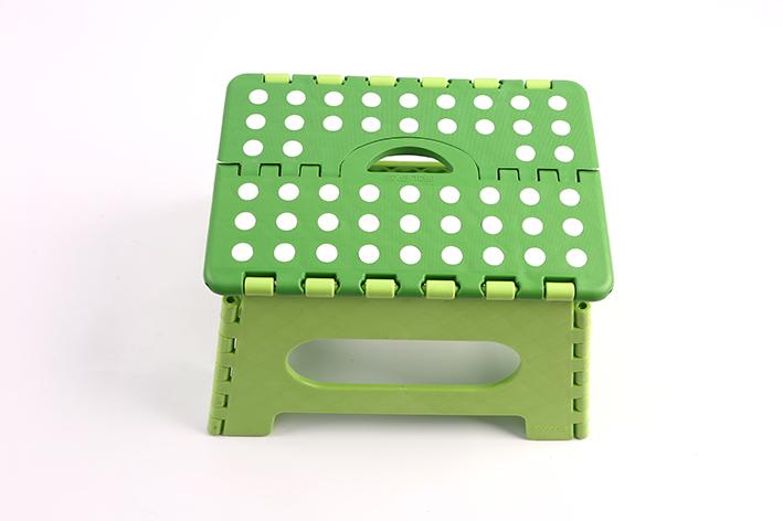 Plastic folding stool-2