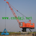 Harbor Single Jib Portal Crane für die Handhabung von Lastkähnen