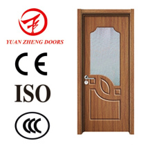 Modern Wood Door Designs PVC Shower Room Door
