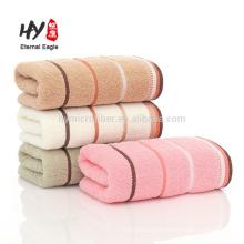Fabricants en gros personnalisé 32 stocks de serviettes en coton rayé